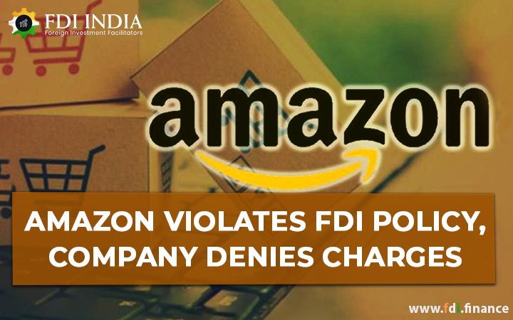 Amazon Violates FDI Policy, Company Denies Charges