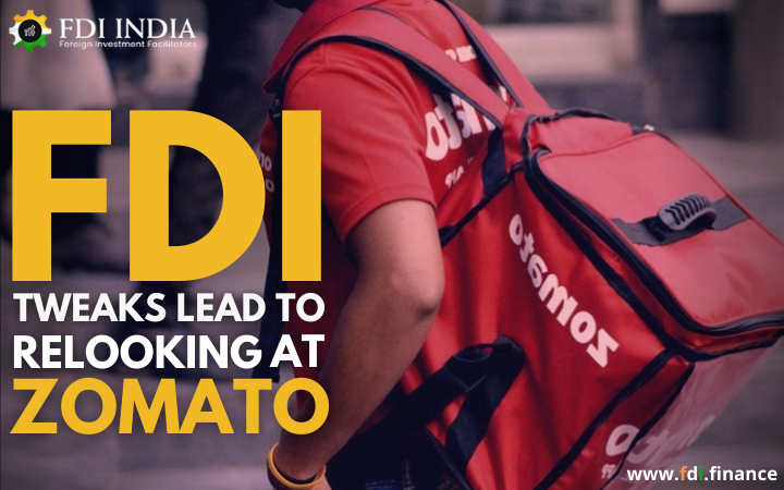 FDI Tweaks Lead to Relooking at Zomato