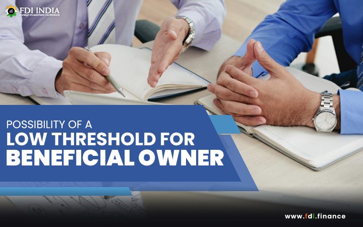 Possibility of a Low Threshold for Beneficial Owner