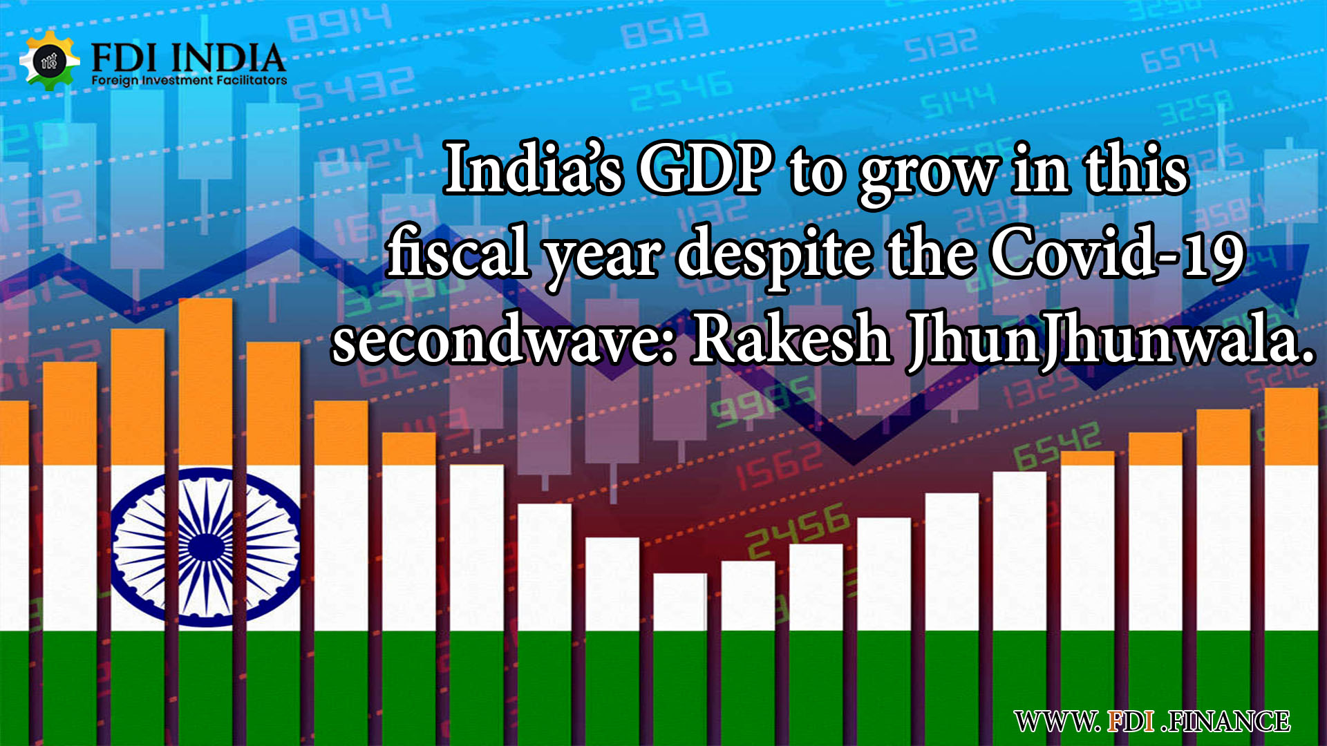 India's GDP To Grow In This Fiscal Year Despite The Covid-19 Second Wave: Rakesh Jhunjhunwala
