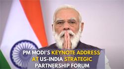 PM Modi's Keynote Address at US-India Strategic Partnership Forum