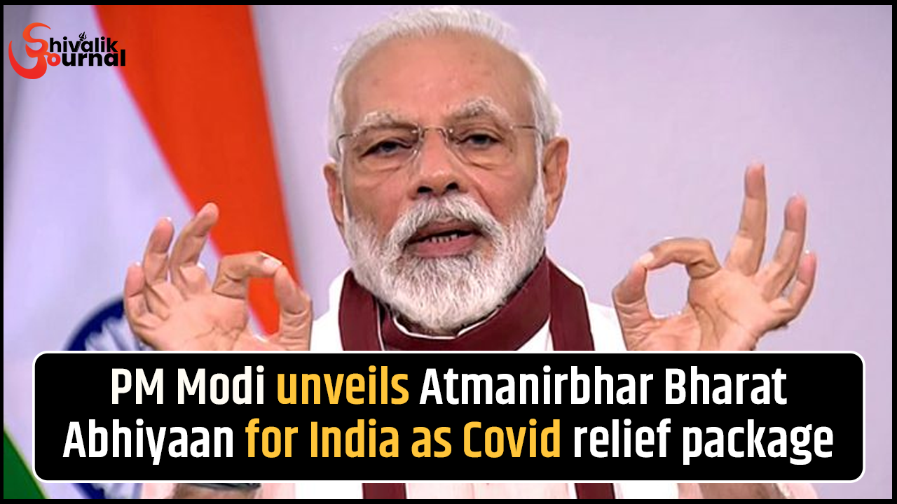 PM Modi unveils Atmanirbhar Bharat Abhiyaan for India