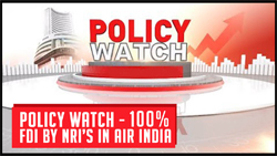 Policy Watch - 100?I by NRIs in Air India